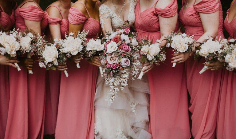 fotografía damas de honor en boda